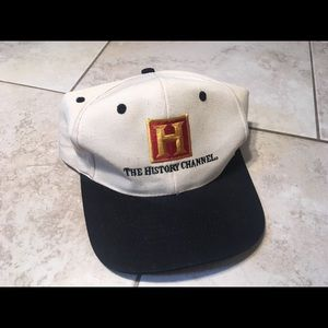 Other - Vtg History Channel SnapBack hat
